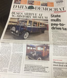 daily democrat article